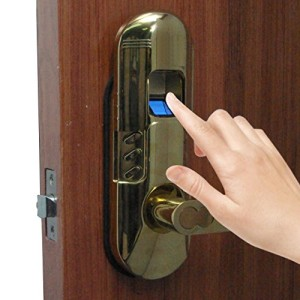 Assa-Abloy-Digi-Electronic-Biometric-Fingerprint-Keypad-Door-Lock-Set-Right-handle-door-lock-98-Gold-0-0