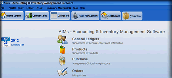 Account Inventory Software