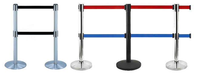 Stanchion Queue Barrier