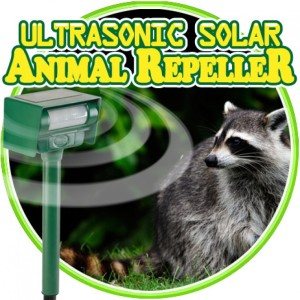 Ultrasonic Solar Animal Repeller Nigeria
