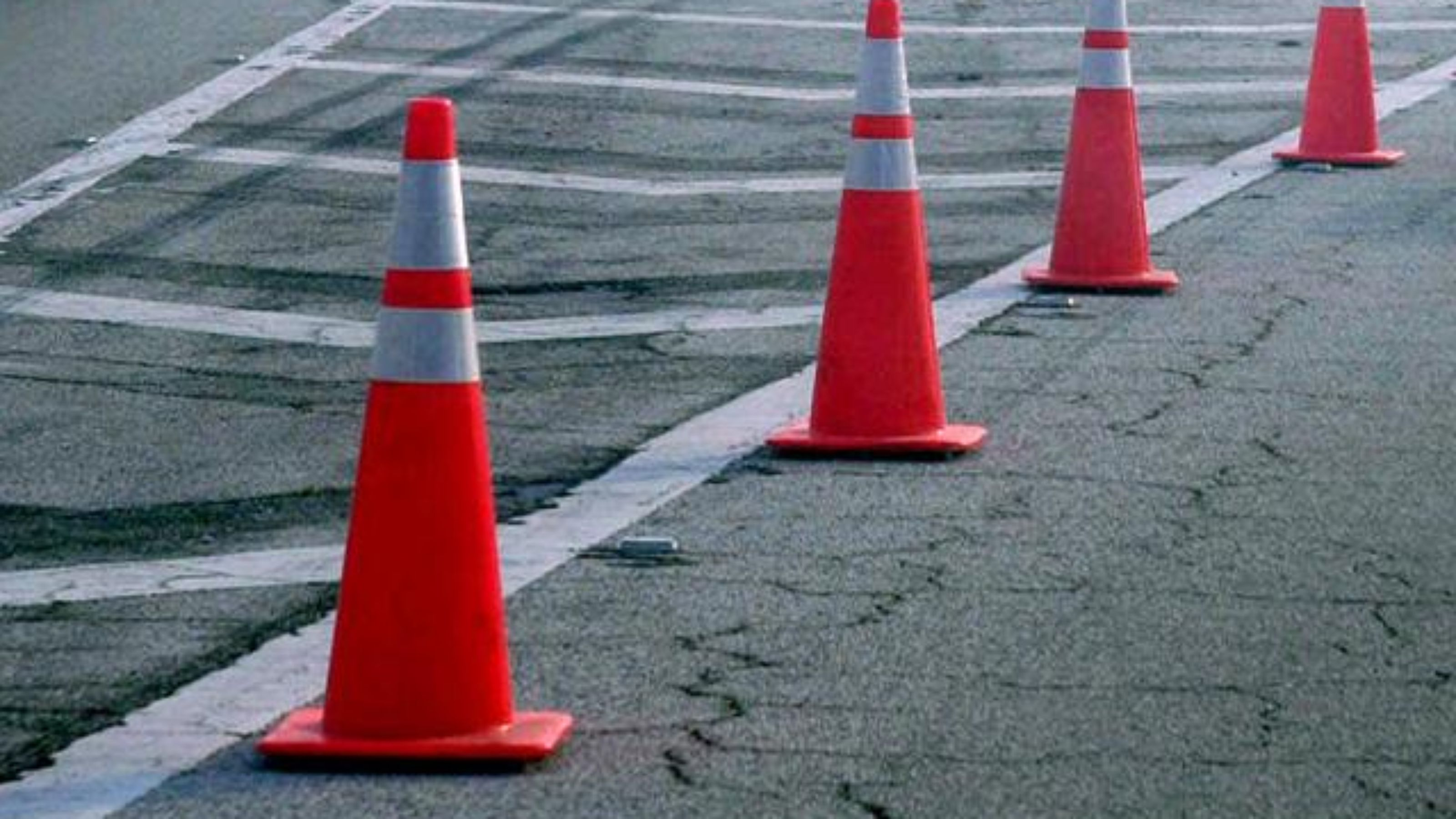 Traffic Cones in Nigeria | Hiphen Solutions Services Ltd Traffic Cone On Road