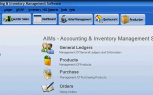 Accounts Inventory Management Software