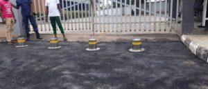 Automatic Hydraulic Rising Bollards