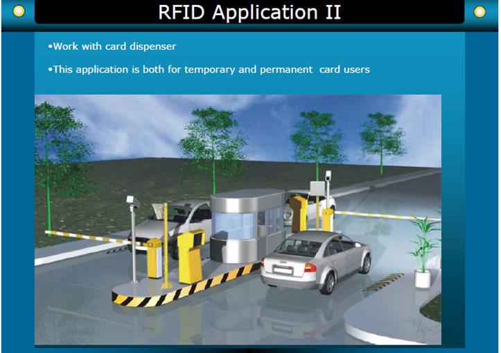 RFIDTicket Parking System555