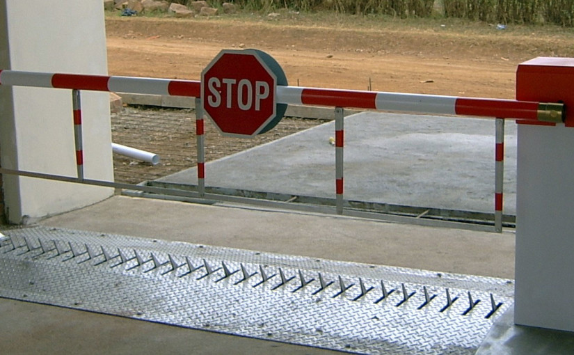 Spikes Barrier