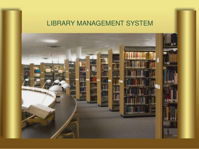 Library Automation Management System Library Kiosk Security System