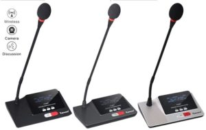 wireless delegate conferencing system