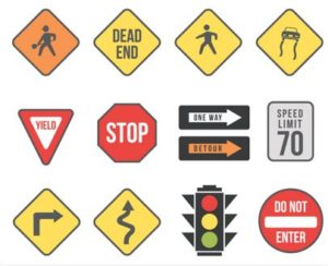 Road Traffic Safety Signs
