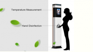 Non-Contact Thermometer and Hand Wash System