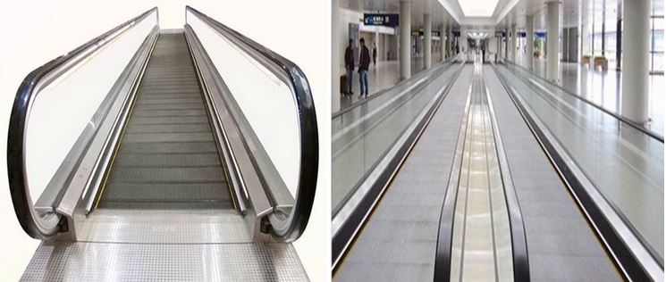 Travelator Moving Walkway
